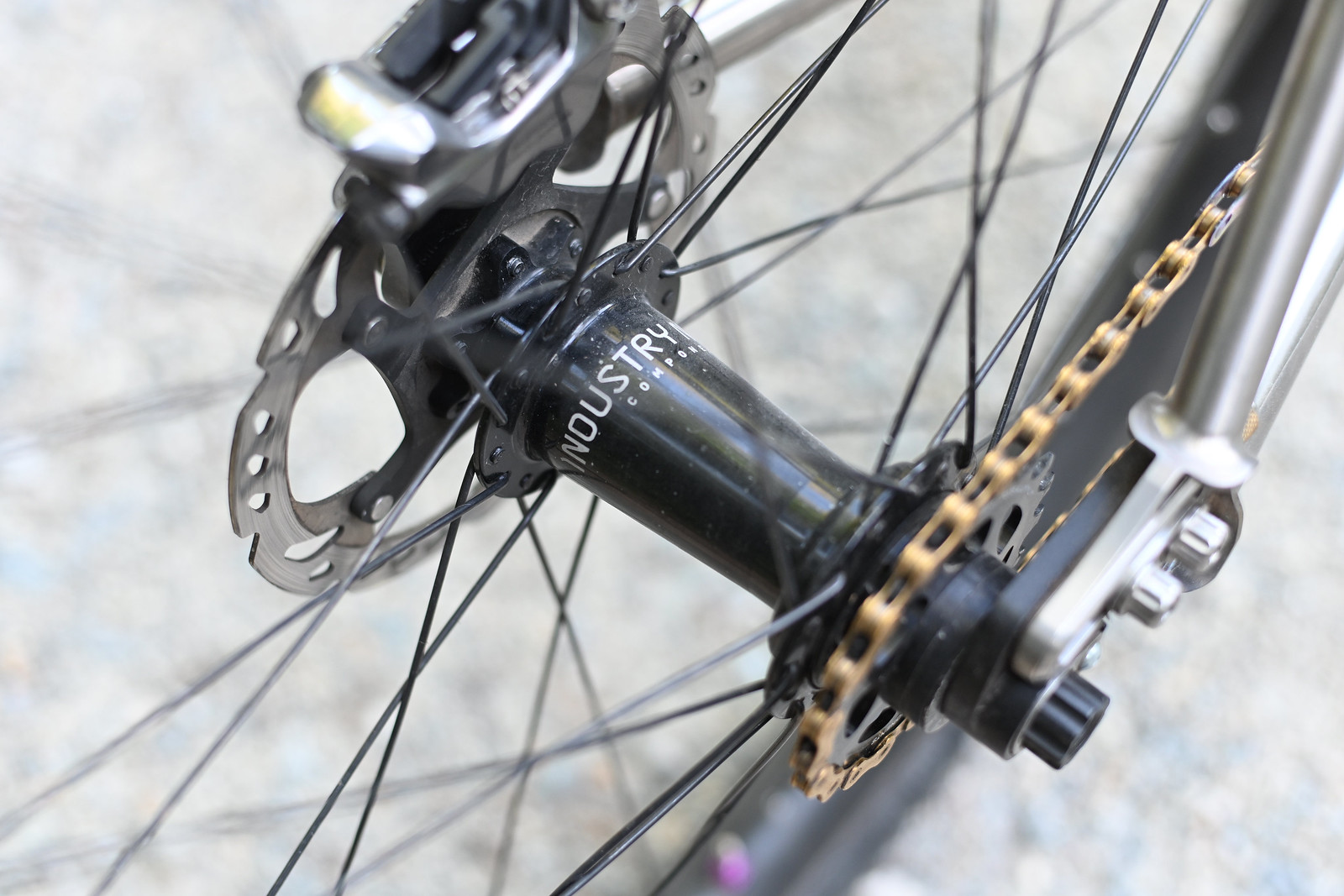 The only I9 157mm hub on the planet