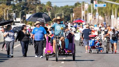 Meet on Beach Open Streets event, Buena Park, California