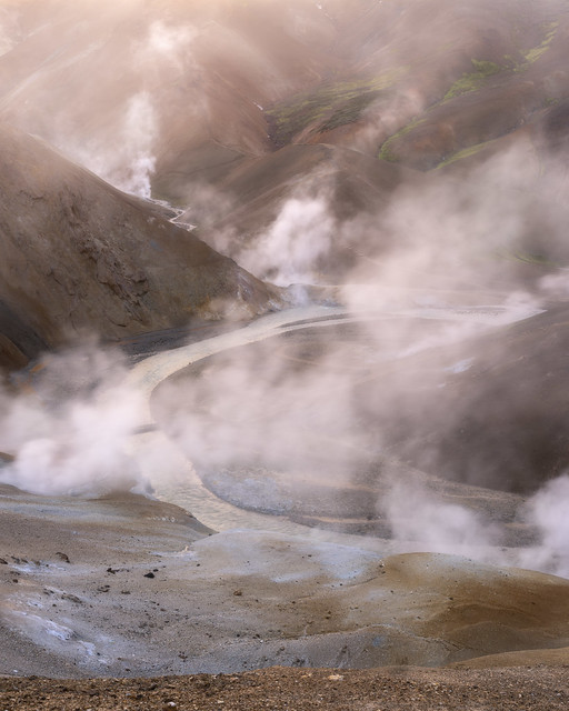 More steam action in Iceland