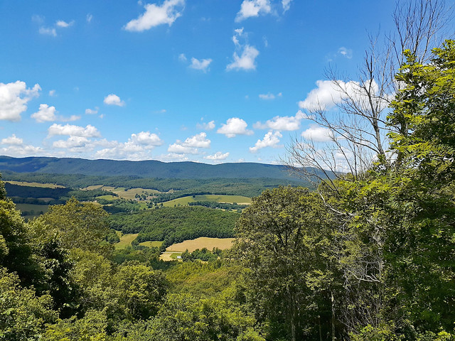 One Of The Lookouts At Big Walker Lookout.