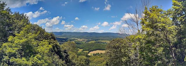Panoramic View At Big Walker Lookout.
