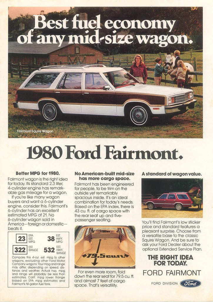 1980 Ford Fairmont Squire Wagon