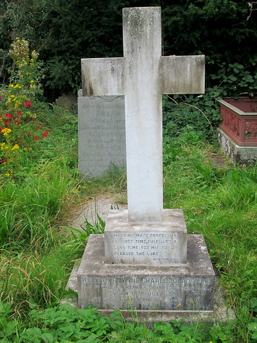 Gladstone Grave, St Deiniol's Churchyard, Hawarden