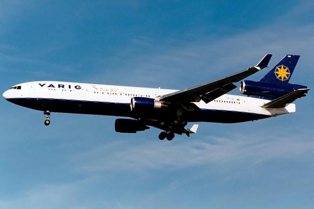 Varig | McDonnell Douglas MD-11 | PP-VQH | London Heathrow