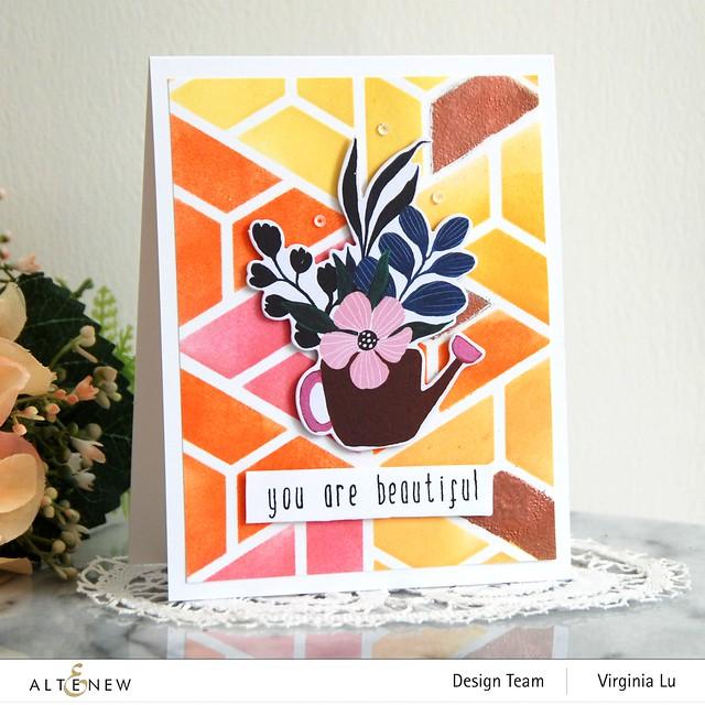 Altenew-ColorBlockStencil-BloomingEphemera-Birch ImpressionismStampDie