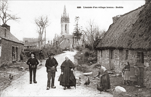 Bodilis - Finistère - CPA