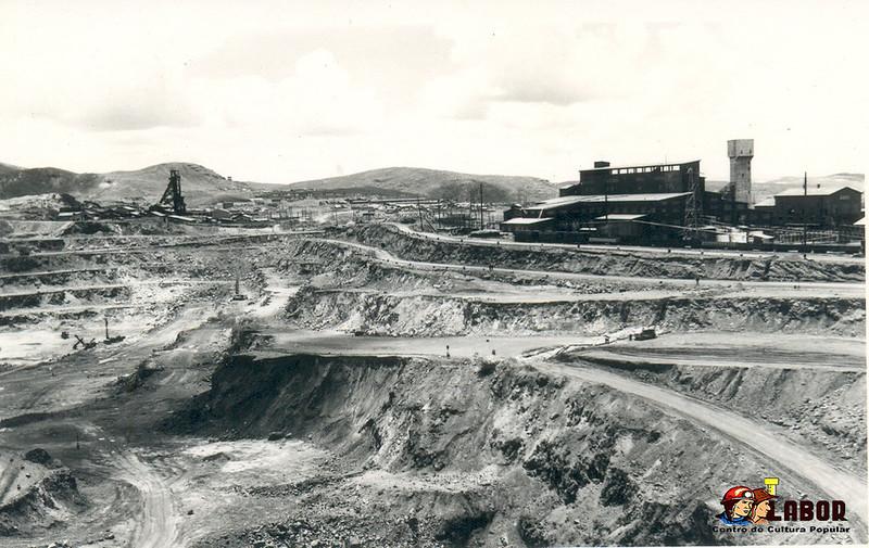 Antigua minería en Cerro de Pasco