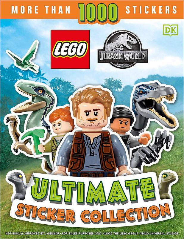LEGO Jurassic World Sticker Book
