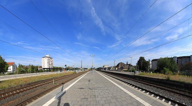 Frankfurt Höchst Station 2020
