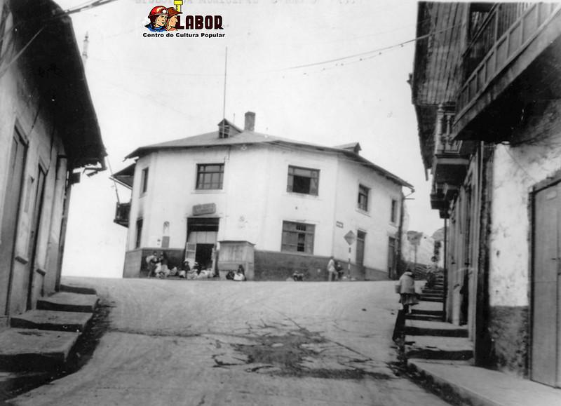 Calles antiguas de Cerro de Pasco