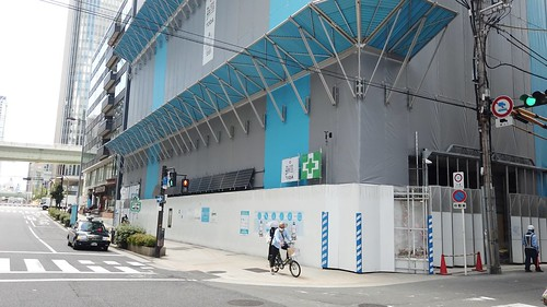 [堂島浜2丁目・旧堂島ホテル跡地]アロフト大阪堂島 建設工事