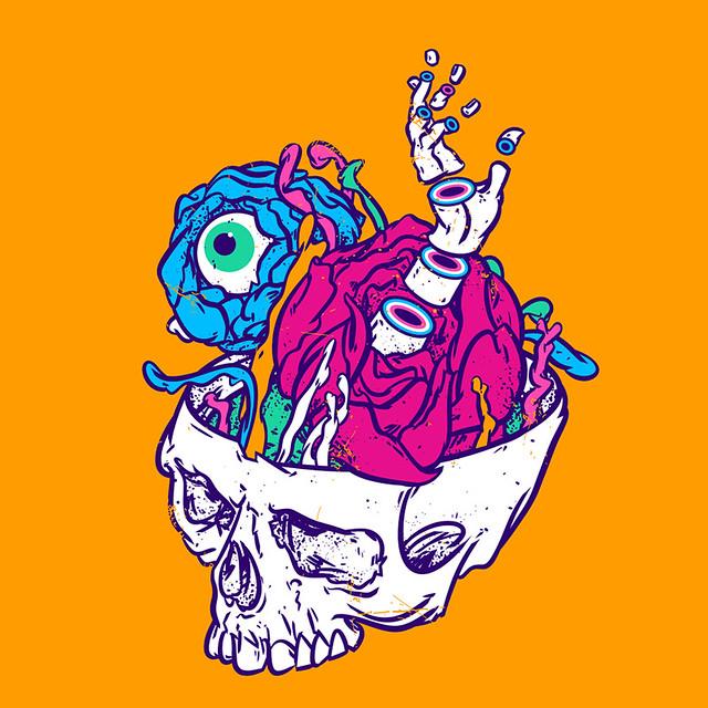 New life of Yorick's skull