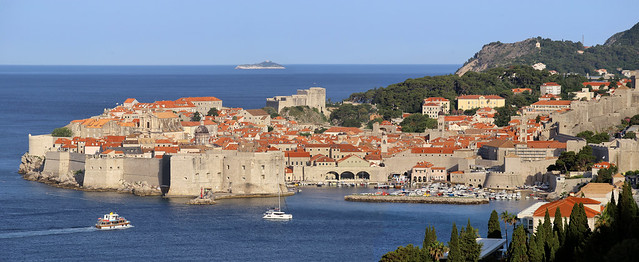 Dubrovnik and the endless shimmer of the Adriatic Sea