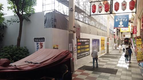 [曾根崎2丁目・大阪北小学校跡地]タワーマンション ラ・トゥール 建設工事