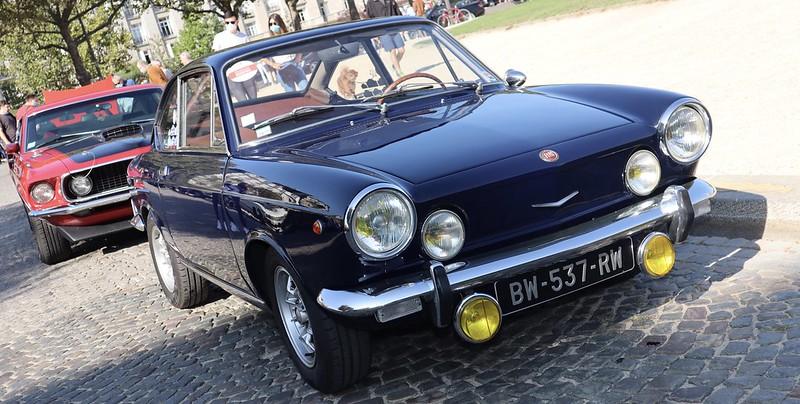 FIAT 850 Sport - Paris Vauban Septembre 2020 50338550932_be65a36dd1_c