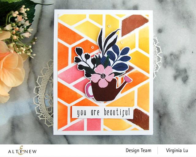 Altenew-ColorBlockStencil-BloomingEphemera-Birch ImpressionismStampDie-002