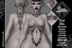 Lilithe'// Brigh Tattoos @ Engine Room