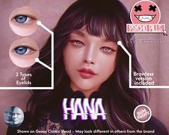 Hana Skin for Genus Heads!