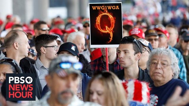 What is QAnon? How the conspiracy theory gained traction in 2020 campaign