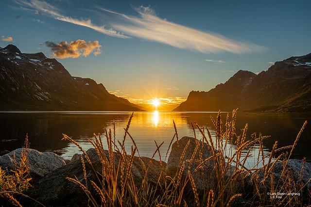 Sunset in Ersfjorden!