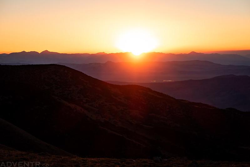 Kennedy Saddle Sunset