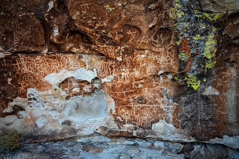 Paiute Rocks Petroglyphs