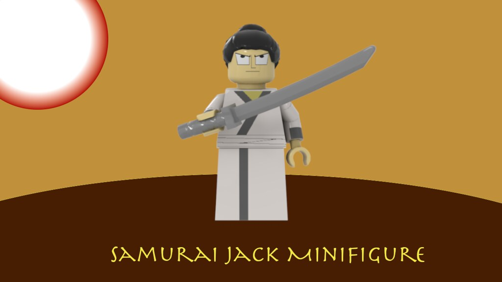 Samurai Jack Minifigure