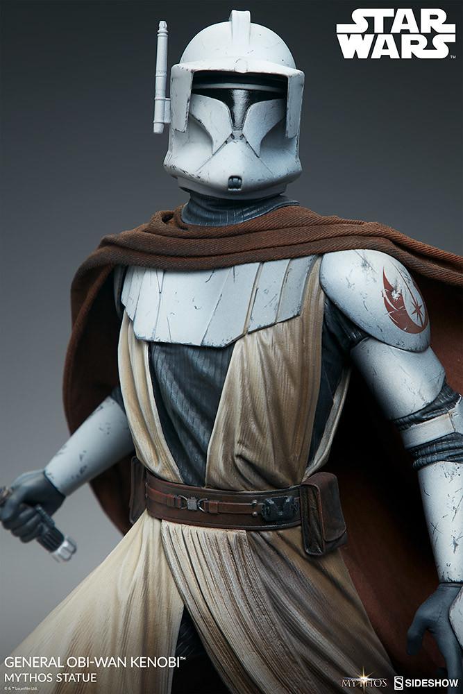 Sideshow《星際大戰》歐比王·肯諾比將軍-Mythos 全身雕像
