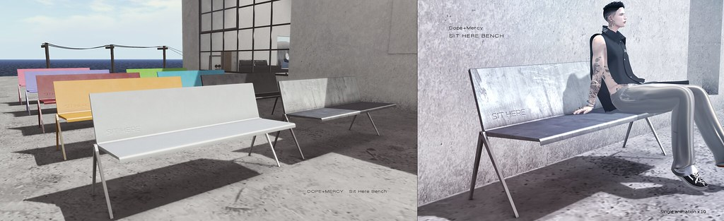 [Dope+Mercy]Sit Here Bench @101L Event