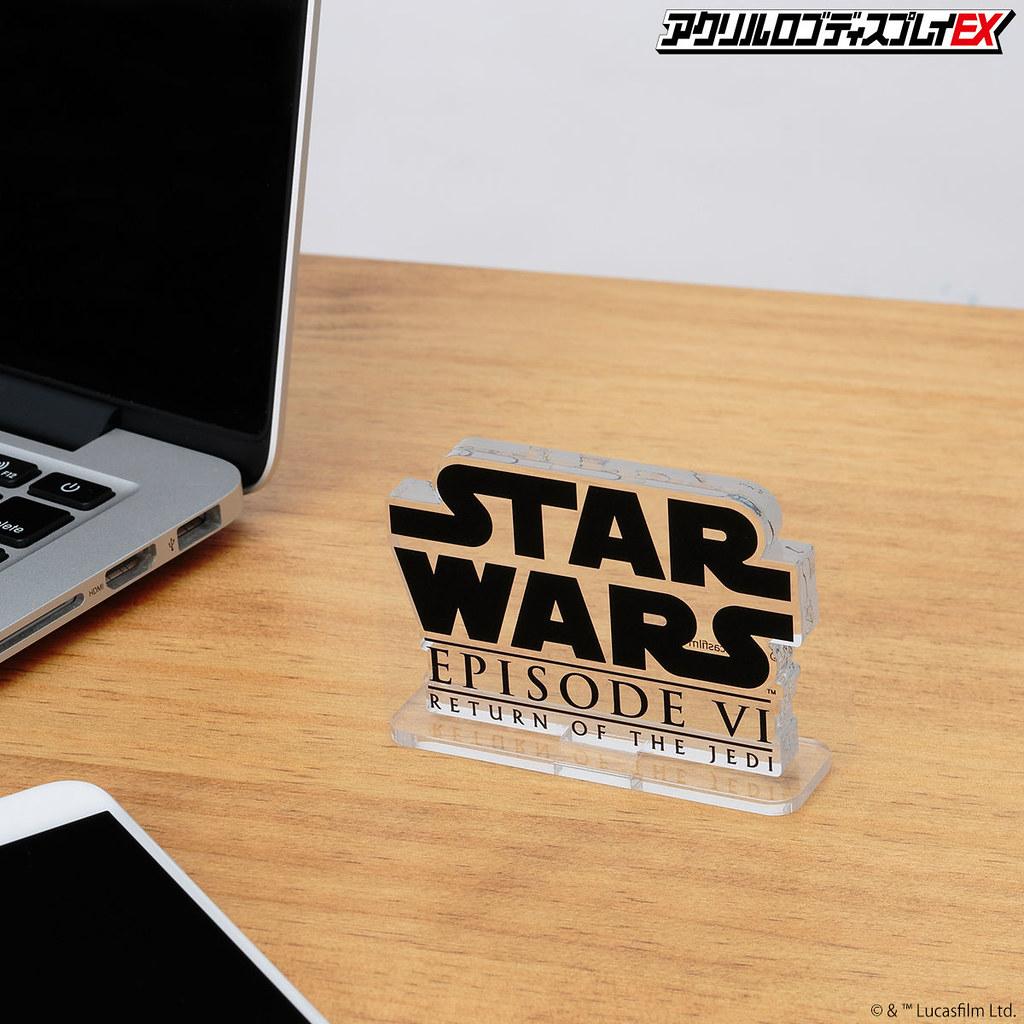 萬代推出四款「STAR WARS 壓克力 LOGO 展示牌EX」一秒讓《星際大戰》玩具收藏質感UP!
