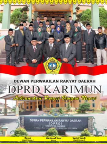 banner DPRD Karimun