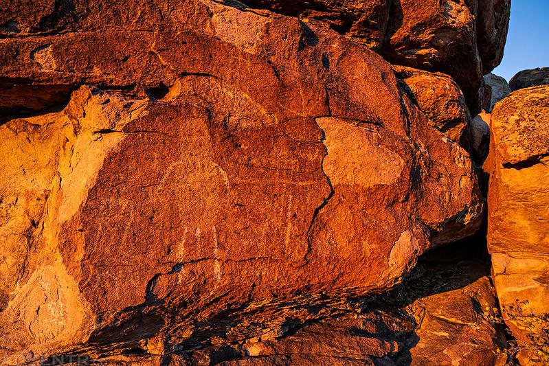 Morning Petroglyphs