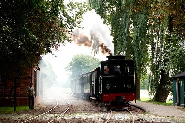 Museumsbahn, Einfahrt in Heiligenberg