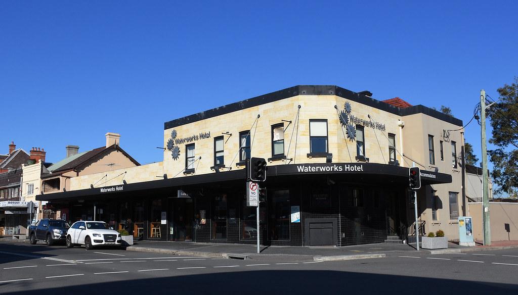 Waterworks Hotel, Botany, Sydney, NSW.