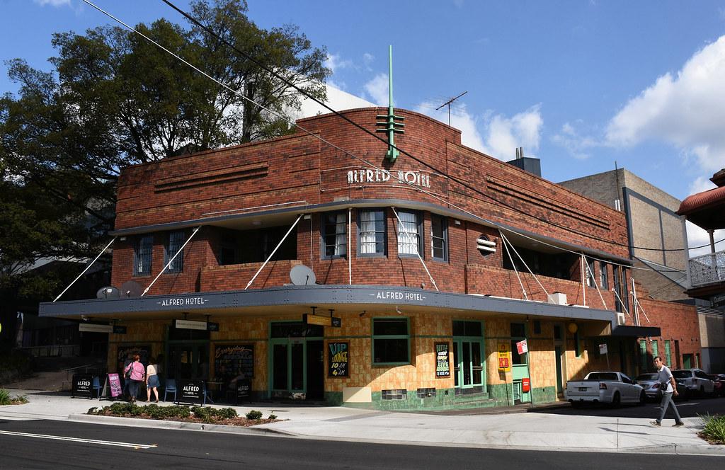 Alfred Hotel, Camperdown, Sydney, NSW.