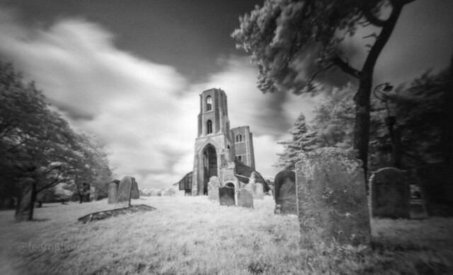 Wymondham Abbey, infra-red