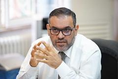 رئيس هيئة التفاوض أنس العبدة  - اجتماع الهيئة العامة ٥٢