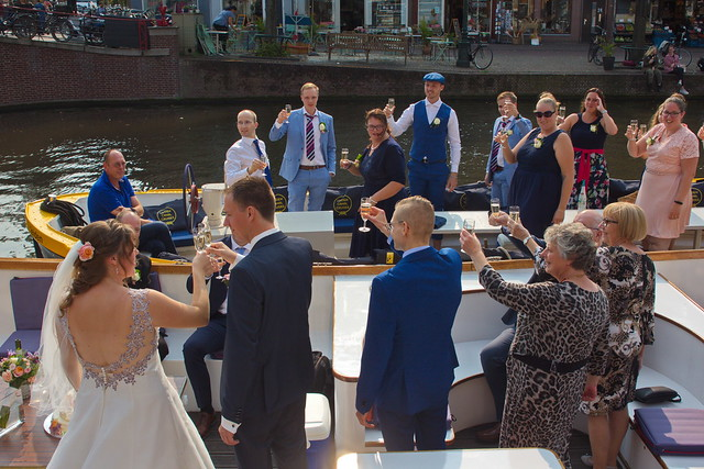 Wobbling and bubbling wedding