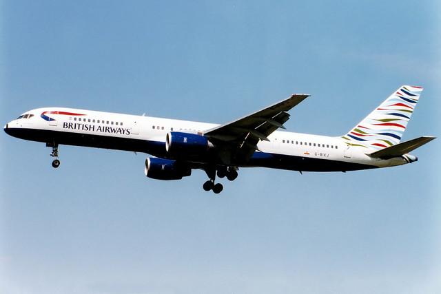 British Airways | Boeing 757-200 | G-BIKJ | Waves of the City | London Heathrow