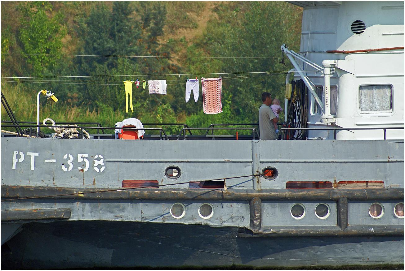 198. 2007. Москва–река, Буксир–толкач РТ 358.