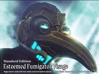 !Reliquary! Esteemed Fumigator Visage @ ENGINE ROOM SEPT 20TH 2020