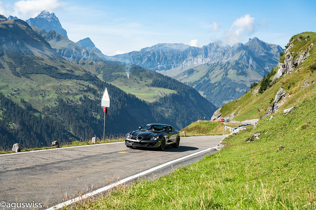 SLR MSO in the swiss alps