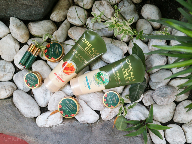 creamsilk organic powerfusion ultra rich lustre rich moisture