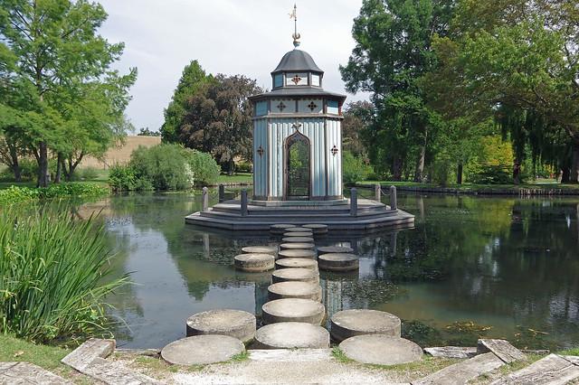 Apremont-sur-Allier (Cher) : le parc floral