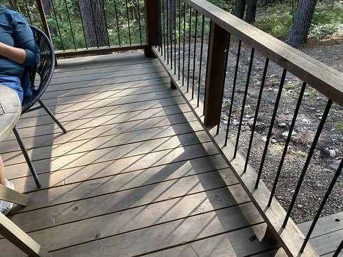 Cabin Life - Shadows on the Deck