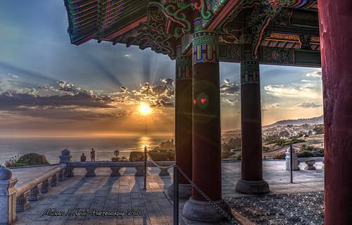sanpedro koreanfriendshipbell california southerncalifornia sunset