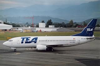 OO-LTE Boeing B737-300 TEA Belgium (leased from TEA France) LDE