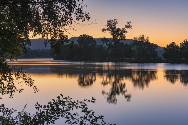 *September morning on the Moselle in 10 seconds*