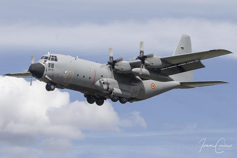 A Brief Look At My Flickr Photos - Lockheed C-130H Hercules – Belgium-Air Force – CH-13 – Kleine Brogel (EBBL) – 2020 08 19 – Landing RWY 23R – 13 – Copyright © 2020 Ivan Coninx