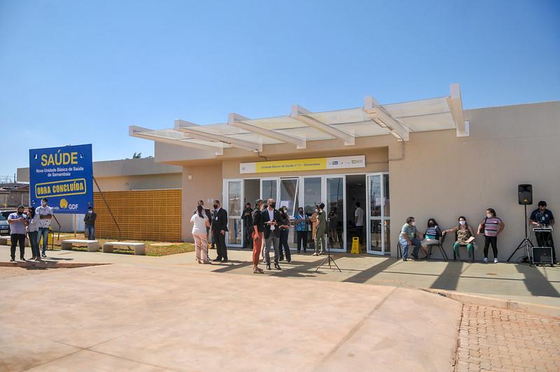 Inauguração da Unidade Básica de Saúde n° 11 de Samambaia